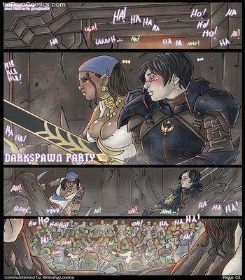 Darkspawn Party 2 free sex comic