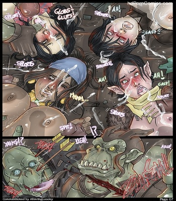 Darkspawn Party 8 free sex comic