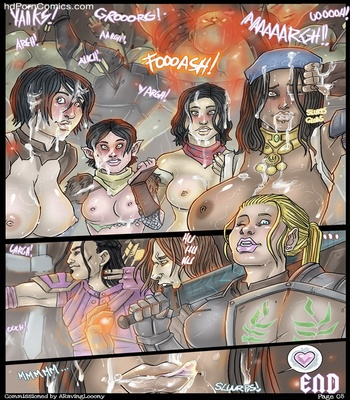 Darkspawn Party 9 free sex comic