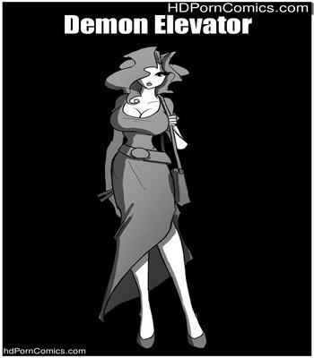 Porn Comics - Demon Elevator Sex Comic