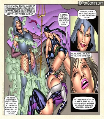 Demonic Fuck-Feast in Mythra's Lair11 free sex comic