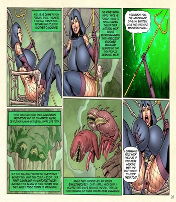 Demonic Fuck-Feast in Mythra's Lair32 free sex comic