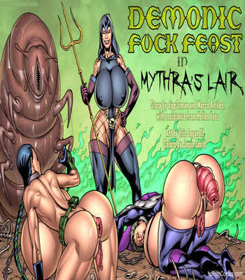 Demonic Fuck-Feast in Mythra's Lair6 free sex comic