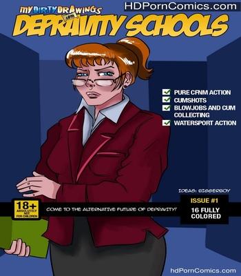 Porn Comics - Depravity Schools 1