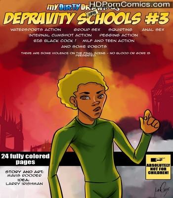 Porn Comics - Depravity Schools 3