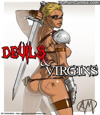 Porn Comics - Devils & Virgins Sex Comic