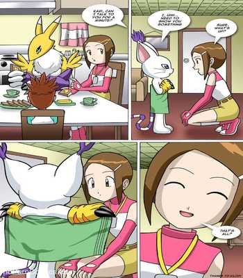 Digimon - 3 - New Experiences3 free sex comic