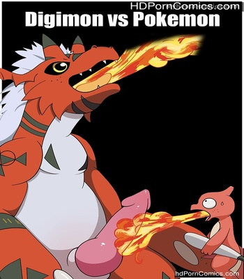 Porn Comics - Digimon vs Pokemon Sex Comic