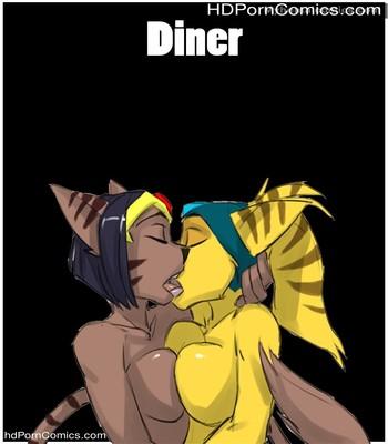 Porn Comics - Diner Sex Comic