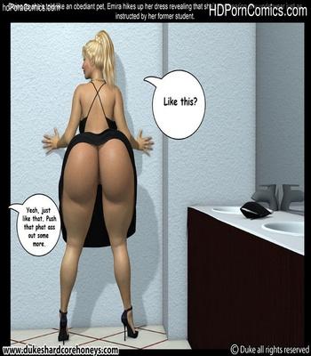 Mrs Hani 2 – Dinner Date 1 Sex Comic sex 11