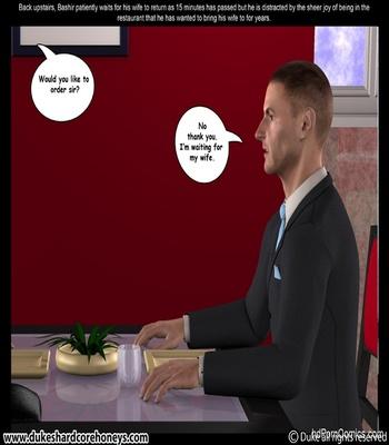 Mrs Hani 2 – Dinner Date 1 Sex Comic sex 17