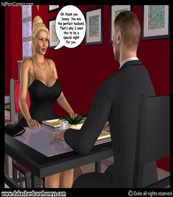 Mrs Hani 2 – Dinner Date 1 Sex Comic sex 5