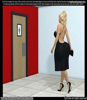 Mrs Hani 2 – Dinner Date 1 Sex Comic sex 8