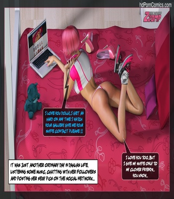 Dolly Pink Social Network 2 free sex comic