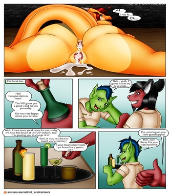Don't Forget Your Tip Sex Comic sex 14