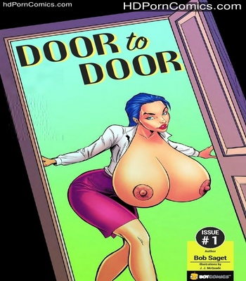 Porn Comics - Door To Door 1