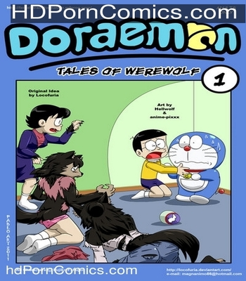 Porn Comics - Doraemon – Tales of Werewolf free Cartoon Porn Comic