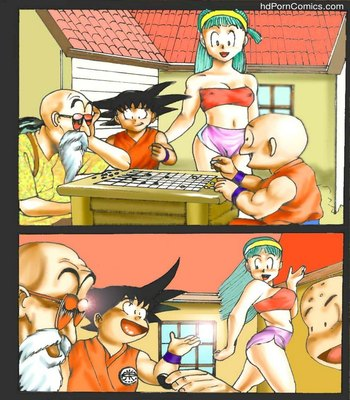 Dragon Ball Sex Comic