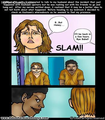 Dukeshardcore- My son's black friend 1-717 free sex comic
