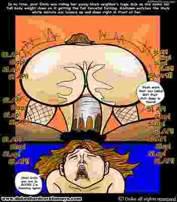 Dukeshardcore- My son's black friend 1-7 free Cartoon Porn Comic sex 71