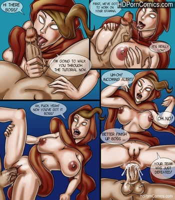 Porn Comics - Dungeon Boss Sex Comic
