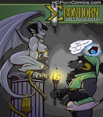 Porn Comics - Ebonhorn – A Link To The Ass Sex Comic