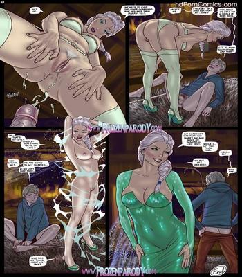 Elsa Meets Jack Sex Comic sex 10