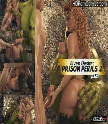Porn Comics - Elven Desire – Prison Perils 2 Sex Comic