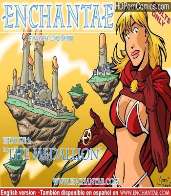 Porn Comics - Enchantae 1 – The Medallion Sex Comic