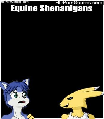Porn Comics - Equine Shenanigans Sex Comic