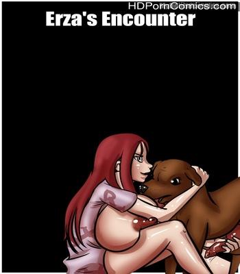 Porn Comics - Erza's Encounter Sex Comic