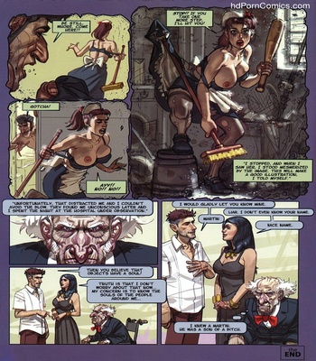 Exhibition 2 – The Indiscreet Broom Sex Comic
