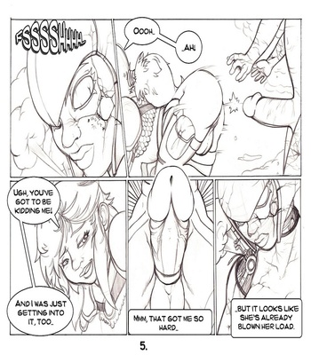 Exploring Futarian Ruins 6 free sex comic