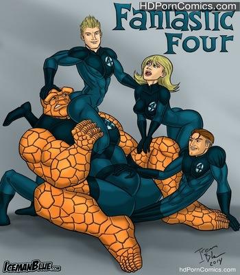 Porn Comics - Fantastic Four Sex Comic