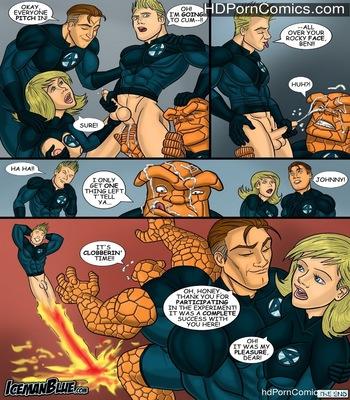 Fantastic Four Sex Comic