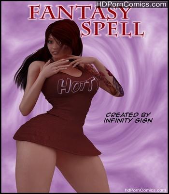 Porn Comics - Fantasy Spell Sex Comic