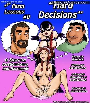 Porn Comics - Farm Lessons Chapter 0 – ( Hard Decisions ) Sex Comic