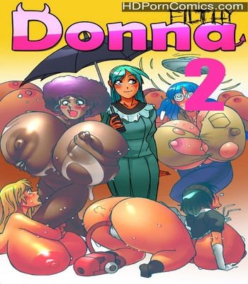 Porn Comics - Filthy Donna 2 Sex Comic
