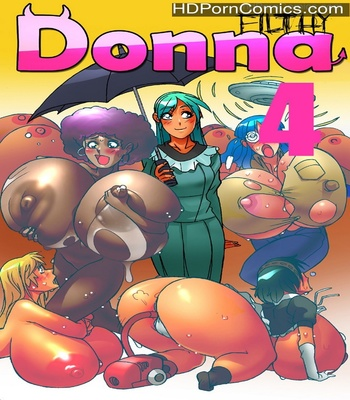 Porn Comics - Filthy Donna 4 Sex Comic