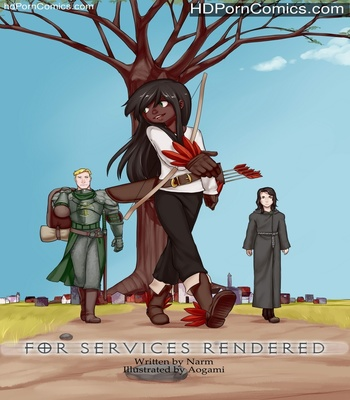 Porn Comics - For Services Rendered Sex Comic