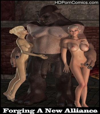 Porn Comics - Forging A New Alliance Sex Comic