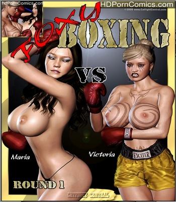Porn Comics - Foxy Boxing – Maria VS Victoria Sex Comic