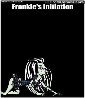 Porn Comics - Frankie's Initiation Sex Comic