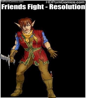 Porn Comics - Friends Fight – Resolution Sex Comic