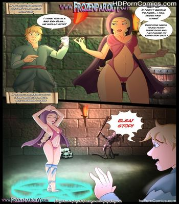 Porn Comics - Frozen Parody – 11 free Cartoon Porn Comic