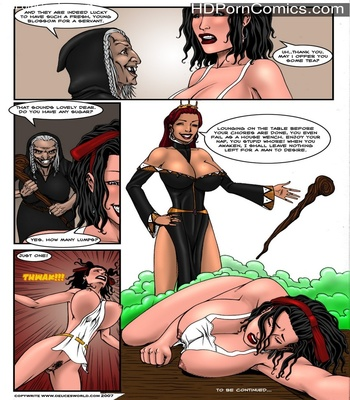 Fucked Up Fairy Tales – Not So White Sex Comic sex 21