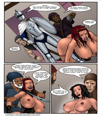 Fucked Up Fairy Tales – Not So White Sex Comic sex 30