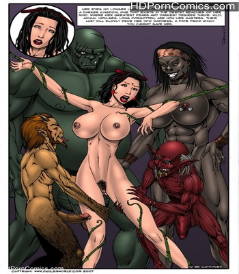 Fucked Up Fairy Tales – Not So White Sex Comic sex 31