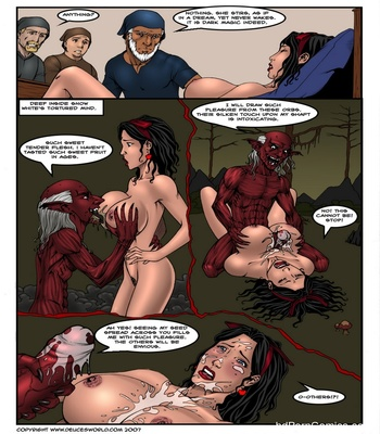 Fucked Up Fairy Tales – Not So White Sex Comic sex 32