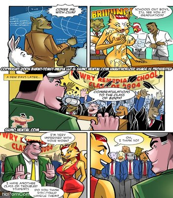 Furry Fantasies 1 Sex Comic